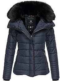Marikoo Damen Winter Jacke Herbst Stepp Kurz Parka warm gefüttert 5 Farben  XS - XL Laureen 7527dbeb43