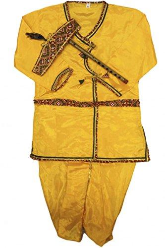 d Jungen Krishna Anzug Indian Bollywood Fancy Dress 4 years (Fancy Dress Krishna Kostüm)