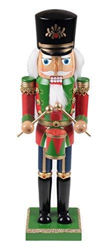 Clever Creations - Nussknacker - Festliche Weihnachtsdeko - Einzigartige Ergänzung für Jede Sammlung - 100{2549d041c7f1e9395d81bb5573a14d532a19af343279ebcbcb21449867a47c2f} Holz - Soldat