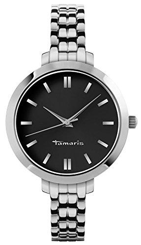 Tamaris Damen-Armbanduhr Annie Analog Quarz Edelstahl B04000050