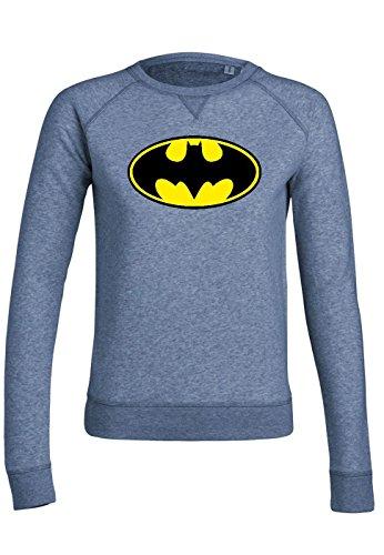 rs20 Sweat pour femmes Trips Batman Mid Heather Blue