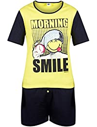 Pomm'poire - Pyjama court Morning Smile by Smiley - Homme
