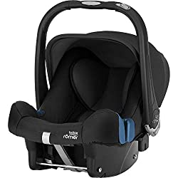 Britax Römer BABY-SAFE PLUS SHR II Autositz Babyschale Geburt, 13 kg, Gruppe 0+, cosmos black