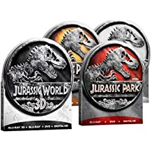 JURASSIC PARK Tin Collection (with JURASSIC WORLD in 3D) 1 2 3 4 Lost World