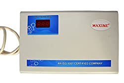 Maxine Copper Triple Booster AC Stabilizer, 5000W (White)
