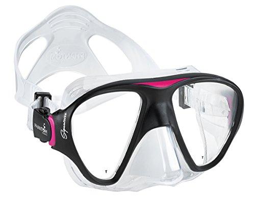 Phantom Aquatics Cancun Masque de plongée avec tuba, rose