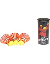 Speedminton® FUN Speeder® - 3er Pack Speed Badminton/Crossminton Einsteiger- und Kinderball