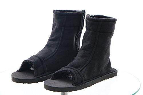 N-06 schwarz black Ninja Shinobi Naruto Schuhe Cosplay shoes (36/38) (Naruto Cosplay Schuhe)