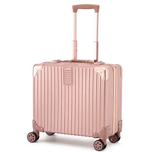 Mini Portatile Portatile Pieghevole per Laptop, Valigetta da Viaggio Compatta da Viaggio Bagaglio da Viaggio Trolley da Viaggio AntiGraffio Resistente all'Usura 44 * 23 * 46cm 3 Colori