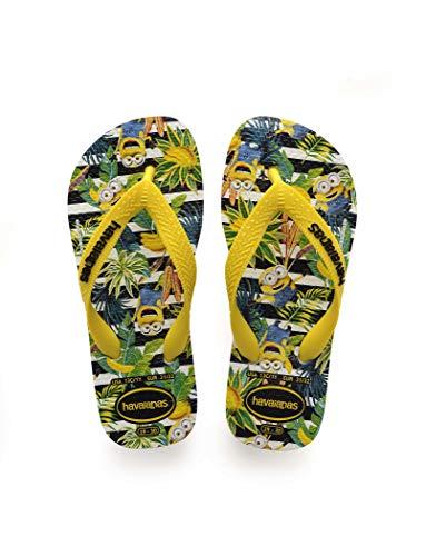 Havaianas Minions Flips Kids White/Citrus Yellow Schuhgröße EU 31/32 | Brazilian 29/30 2019 Sandalen