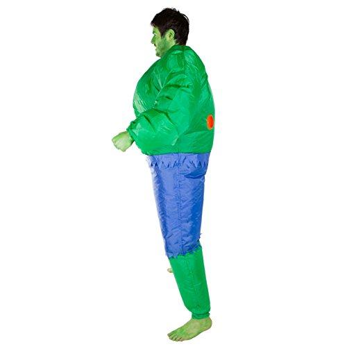 Imagen de hinchable hulk adulto disfraz alternativa