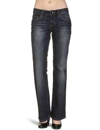 Esprit - Jean - Bootcut - Femme, Bleu (Dark Brushed 951), W31/L34 (Taille Fabricant :W31/L34)