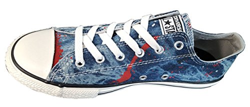 Converse Ct Wash Neon Ox 288300-31-13 Unisex - Kinder Sneaker Ash Grey/Casino