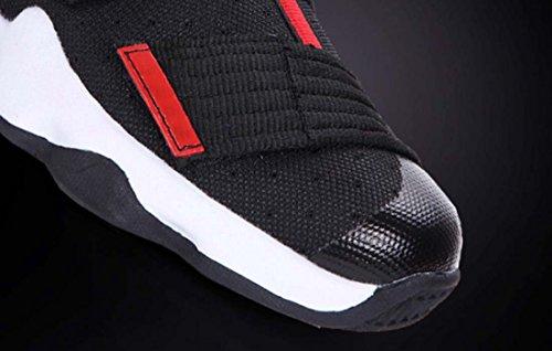Coppia High Top Large Size 45 Camo Scarpe Da Basket Moda Sneakers Traspiranti Antiscivolo Stivali Sportivi Antiusura Rosso