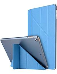 """Thrion Ultra Slim Función de Soporte Protectora Plegable Smart Cover [Auto-Desbloquear] [Botones Protegidos] Funda para Apple iPad Pro 9.7"""" - Azul Claro (Auto Sueño/Estela)"""