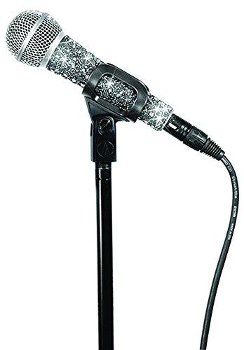 Country Pop Star Kostüm - MicFX SF050 Sensation Mikrofonhülle, mit Kabel,