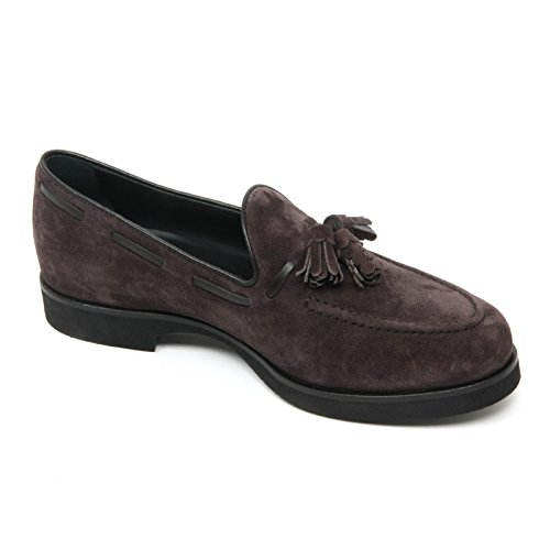 B9034 mocassino donna TOD'S scarpa nappine marrone loafer shoe woman Marrone