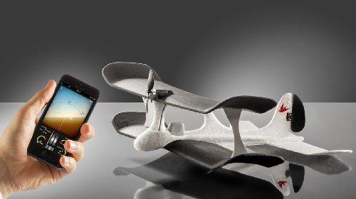 TobyRich SmartPlane - App ferngesteuertes Flugzeug (Zubehör für Apple iPhone/iPad/iPad Air/iPad mini und iPod touch)