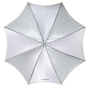 Westcott Parapluie pliable 81 cm Argent