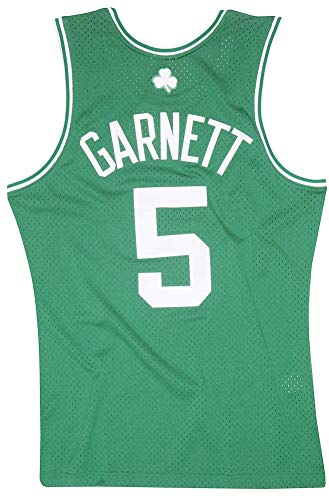 Mitchell & Ness Swingmann Jersey - Boston Celtics Kevin Garnett - NBA Basketball - Trikot - Fan Artikel (XL)