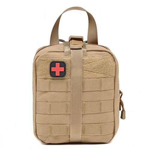 Kitabetty Medizinische Erste-Hilfe-Aufbewahrungstasche - Outdoor Medical Package Erste-Hilfe-Set Für Erste-Hilfe-Koffer, Bergsteiger-Rettungsgerätepaket (7.28 8.07 3.74in).