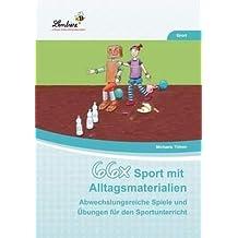 66x Sport mit Alltagsmaterialien (CD-ROM): Grundschule, Sport, Klasse 1-4