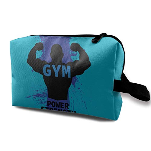 13223e609a9f5a Fitness Guru Makeup Bag Travel Multifunction Clutch Pouch Bags Great Holder  For Girls