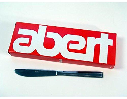 Accessori cucina stoviglie coltelli abert Toronto da Tavola in acciaio conf 12Pz