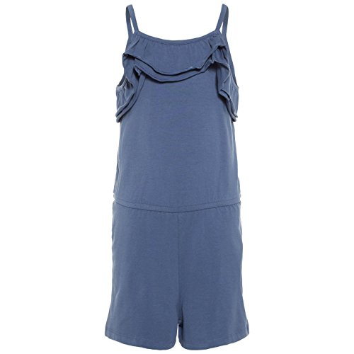 NAME IT Mädchen Jumpsuit Overall nkfVIGGA (164, Blau nkfPIA)