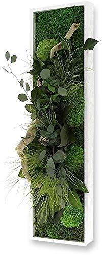 Flowerbox Tableau végétal Nature Panoramic avec Plantes stabilisées