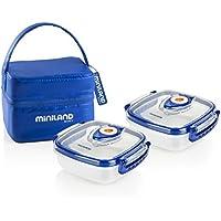 Miniland Pack-2-Go Hermifresh - Herméticos de vacío con funda