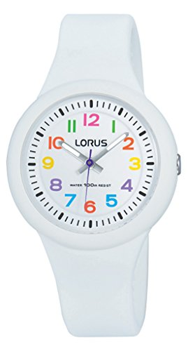 Lorus Watches Unisex Analogue Watch with White Dial Analogue Display - RRX43EX9