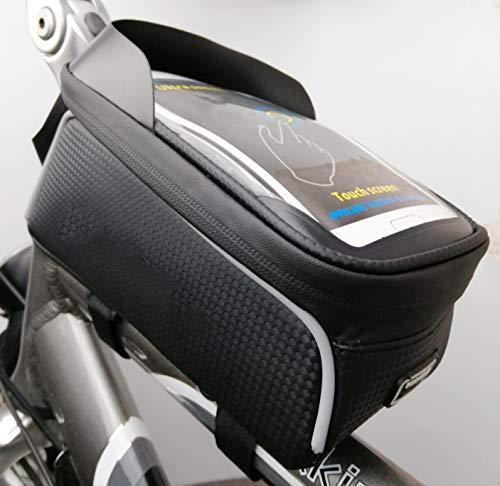 WANDERVOGEL Rahmentasche Fahrrad Oberrohrtasche Wasserdicht Handytasche für iPhone 7p / Samsung s7 bis 6,0 Zoll