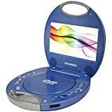 "SYLVANIA SDVD7046-BLUE 7"""" Portable DVD Players with Integrated Handle (Blue)"