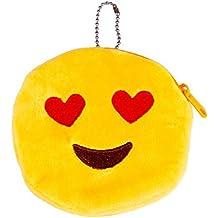 Emoji Emoticono Mini bolsa Sannysis Monedero del bolso de la caja, 10*10cm (A)