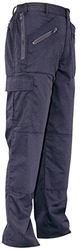 Uniform Knee Socks (Portwest Ladies Action Trousers Kingmill 210g Double Ply Seat Zip Pockets Size 18-20 Navy Ref S687NARXL)
