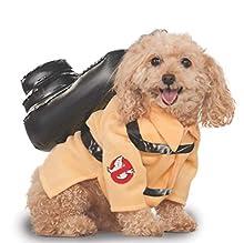 Rubie's, Costume ufficiale a tema Ghostbusters per cani, taglia S
