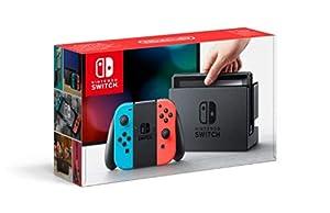 nintendo: Nintendo Switch - Consola color Azul Neón/Rojo Neón