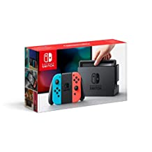 Nintendo Switch Console, Verbeterde Accuduur, Blauw/Rood (Nintendo Switch)