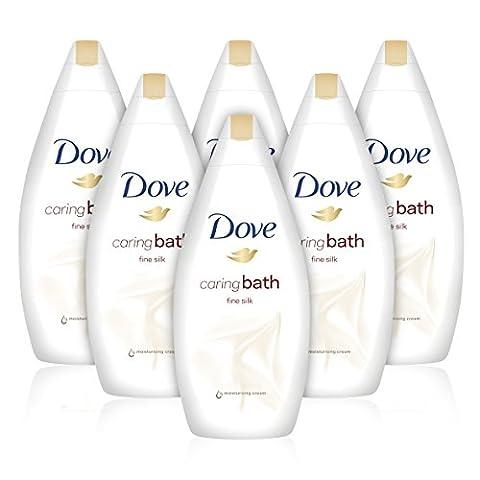 Dove Fine Silk Beauty Bath Cream, 500 ml, Pack of