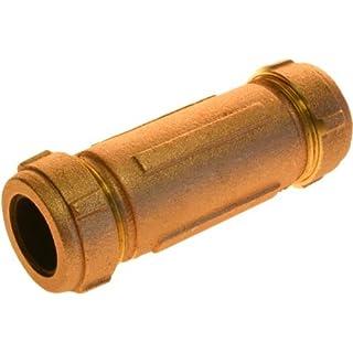 Aviditi 93871 Brass Compression Coupling, 1/2-Inch Iron Pipe x 5-Inch by Aviditi