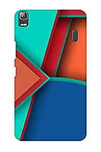 AMAN Shadow 3D Back Cover for Lenovo K3 Note