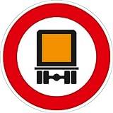 Verkehrszeichen VZ261, Verbot für kennzeichnungspflichtige ..., Alu, RA1, Ø 42cm Verkehrsschild