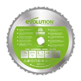 Evolution Lame polyvalente en carbure de tungstène FURY 255 mm