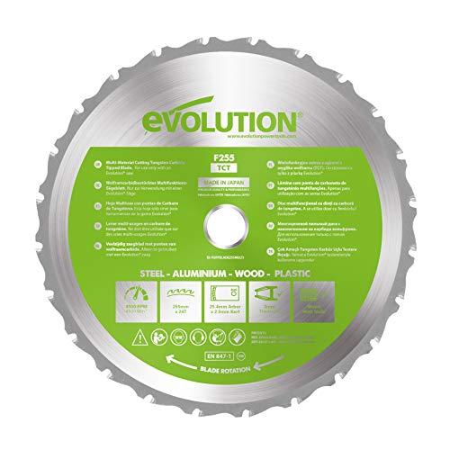 Evolution FURY - Cuchilla multifunción 255mm