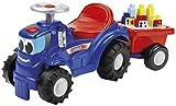 Ecoiffier 7799 - Maxi Abrick Kindertraktot mit Anhänger und Bausteinen, Spiel