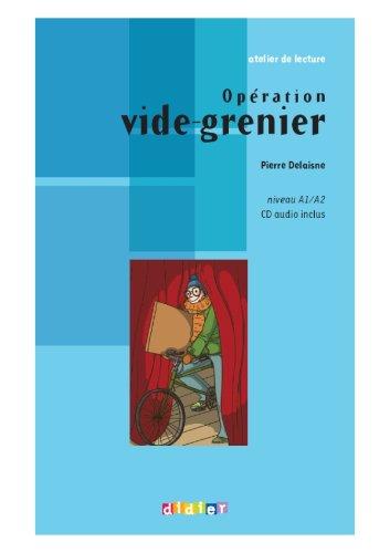 Opération vide-grenier - Livre + CD