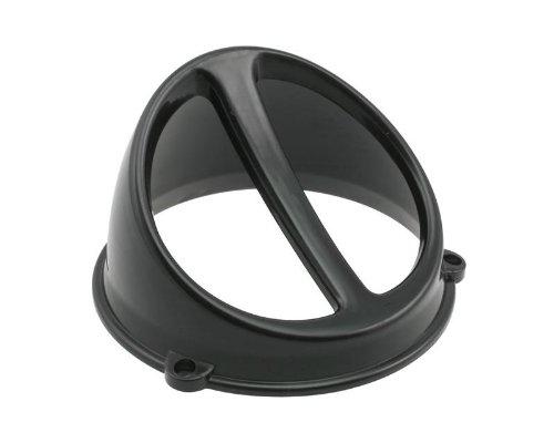 Lüfterspoiler Air Scoop schwarz - universal (Scoop Seitenverkleidung)