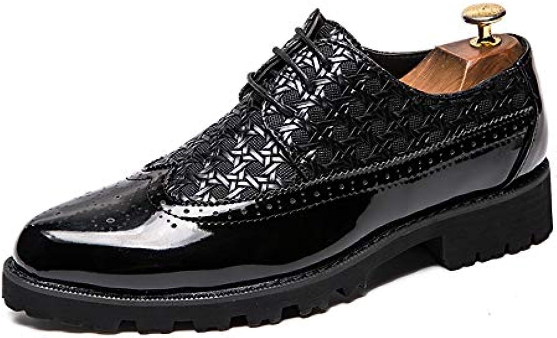 Business Business Business Oxford da Uomo Casual Stile Britannico Low-Top Classico in Rilievo in Pelle intagliata Scarpe in Pizzo... | Durevole  | Uomini/Donne Scarpa  354495