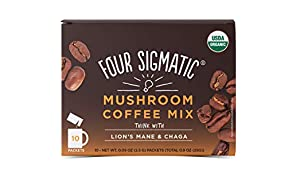 Four Sigma Foods Mushroom Coffee with Lion's Mane and Chaga